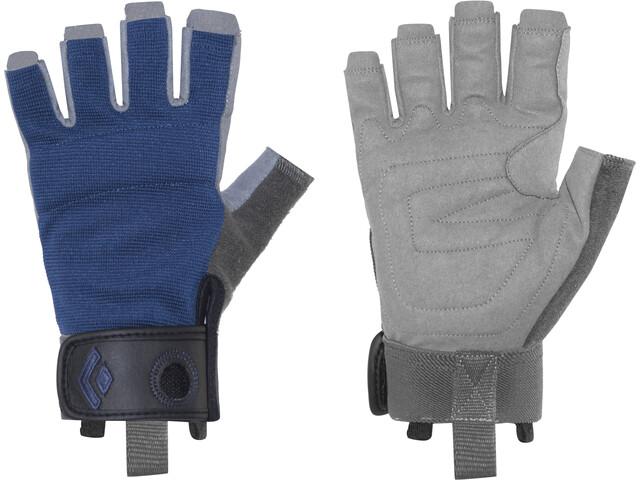 Black Diamond Crag Half-Finger Handschoenen, cobalt